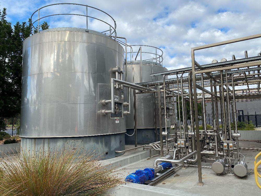 Juice Storage & Cider Canopy