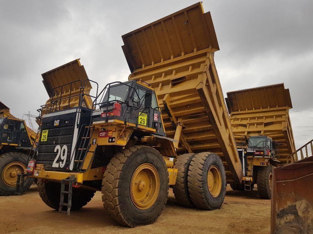 2017 Caterpillar 777E Rigid Dump Truck