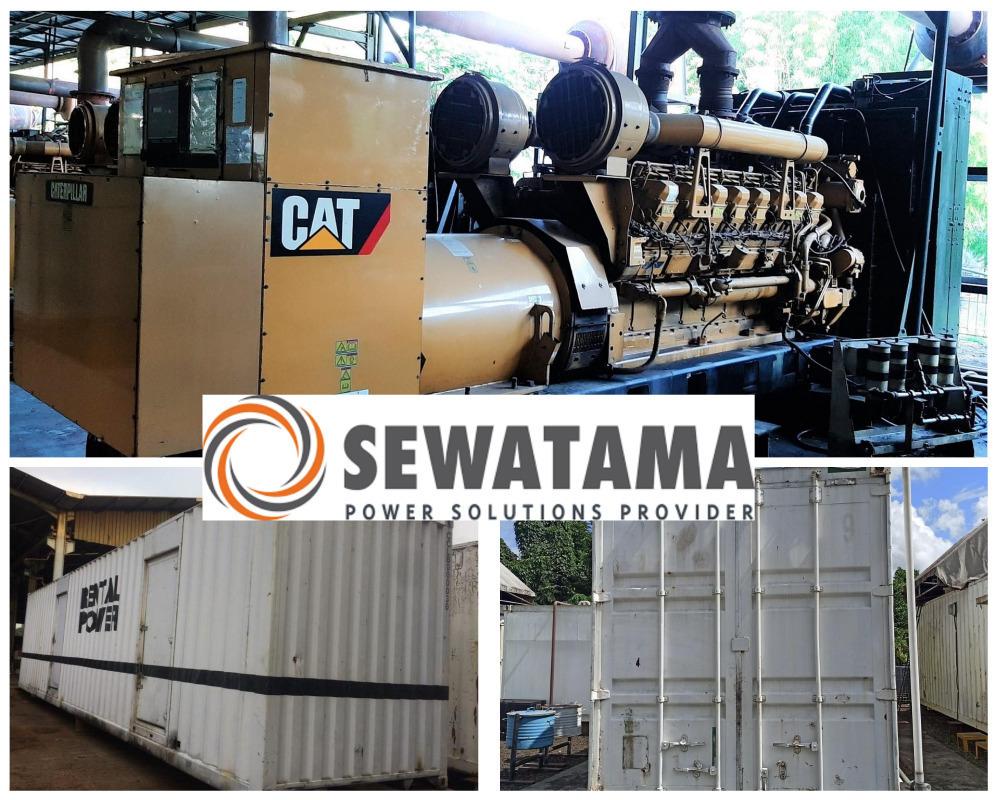 Make an Offer - Caterpillar & Doosan 2000kVA - 2350kVA Generators