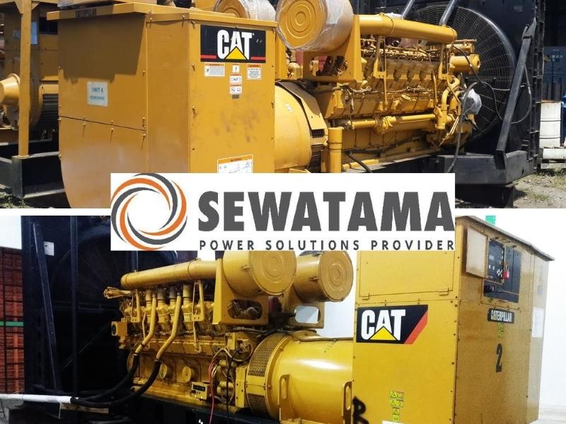 Make an Offer - Caterpillar 1825kVA & Mitsubishi 1845kVA Generators